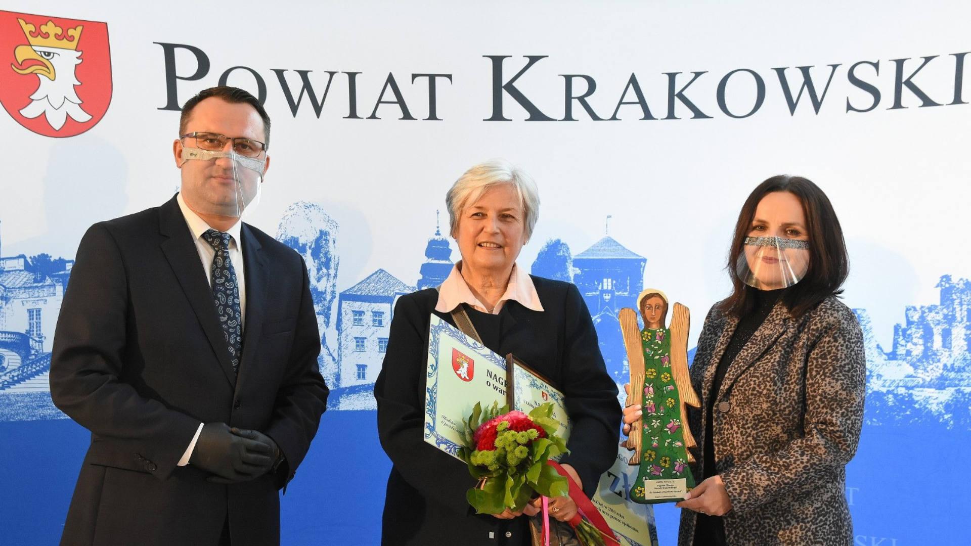 Nagroda Starosty Krakowskiego dla Fundacji Wspólnota Nadziei